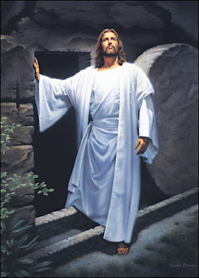 Jesus Christ Coming from the Tomb