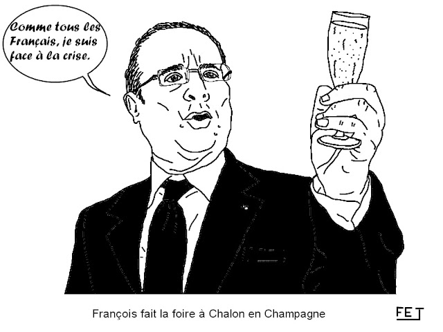 Hollande et la crise