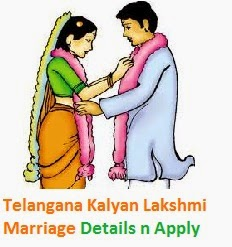 Telangana Kalyana Lakshmi Online Application Form Wedding Ceremony