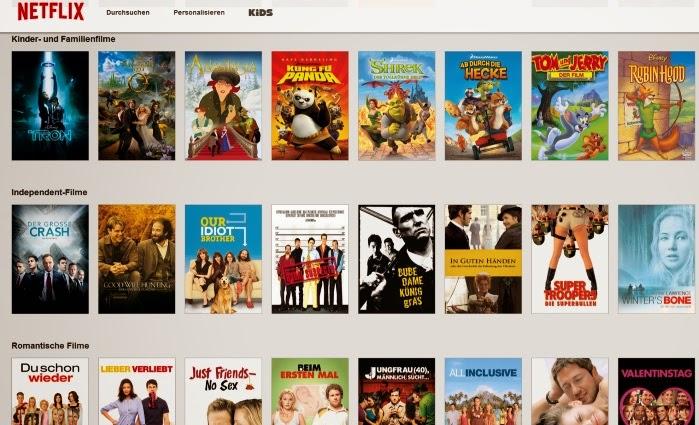 Netflix Film Liste
