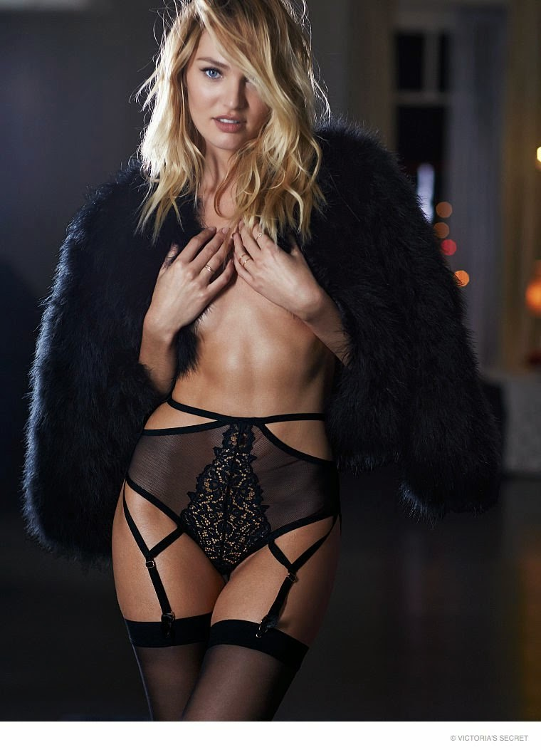 Candice Swanepoel charms in the latest Victoria's Secret Lingerie Lookbook