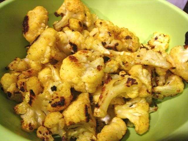 Spirals & Spatulas: Roasted Curried Cauliflower