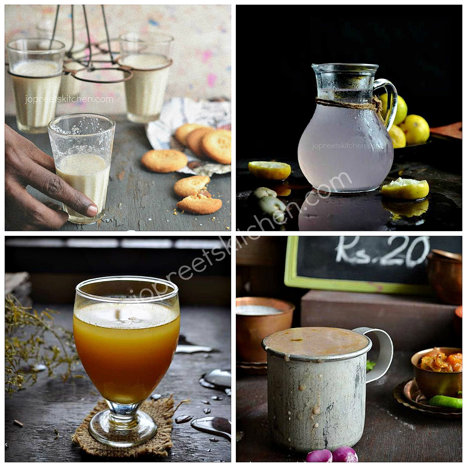 Summer Special Drinks (Juices, Sharbat, Milkshake & Smoothies)