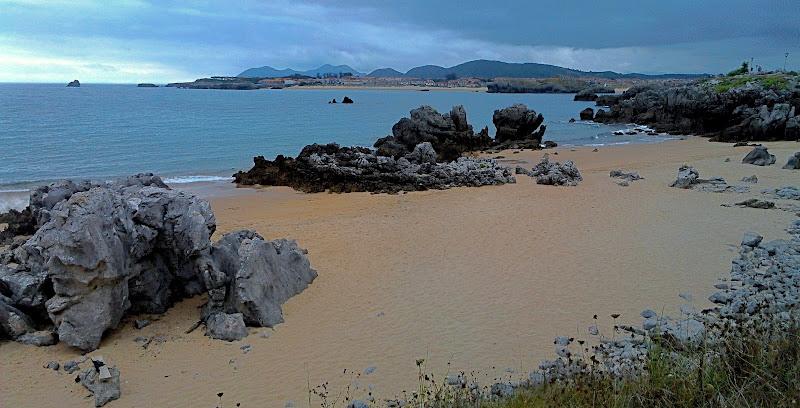 Playa de Arnadal en Isla