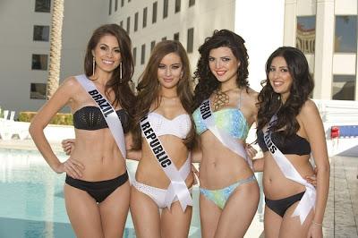 miss brasil y miss peru 2012 en bikini