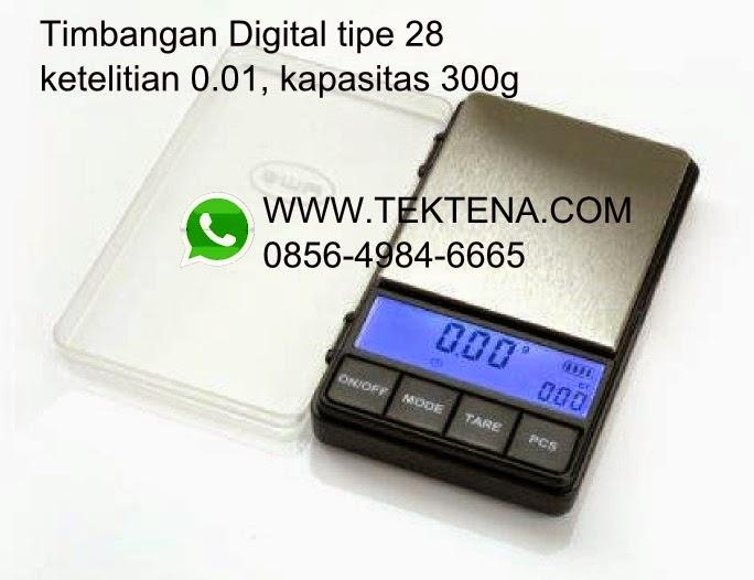 Timbangan Digital Tipe 28 001g 300g