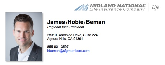 James Beman - Midland National Regional Vice President