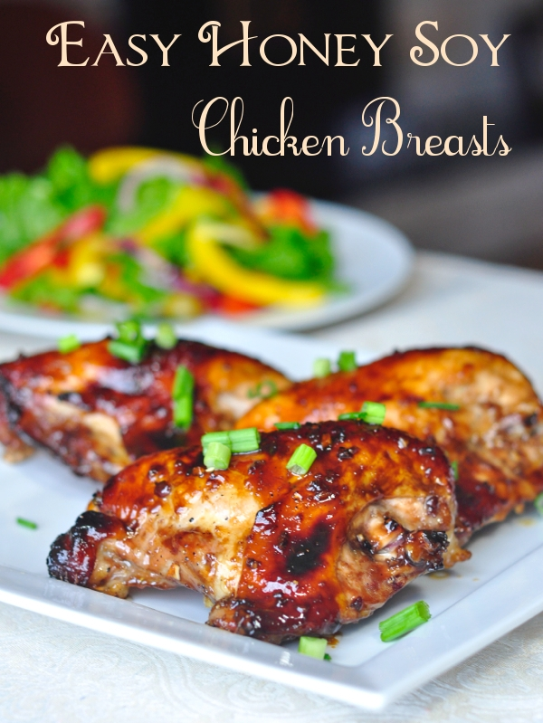 Easy Honey Soy Chicken Breasts