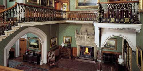 beauty in darkness: tyntesfield house - the house that out does the