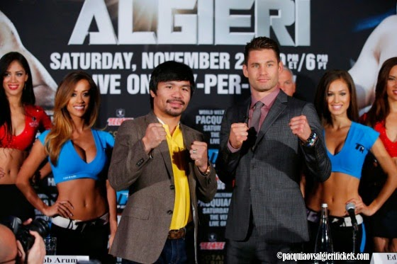 Prediction About Manny Pacquiao vs Chris Algieri Fight by Robert Brown