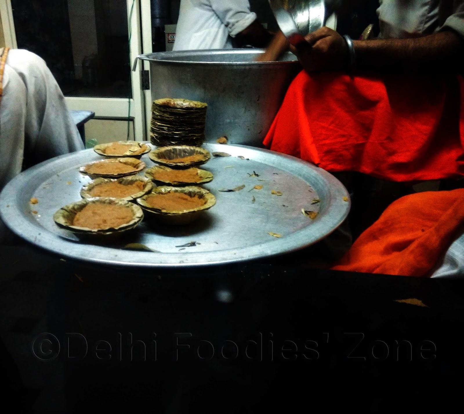 The Kadah prashad at Golden Temple, Amritsar