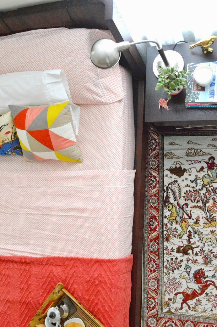 patterns in the bedroom