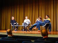 Peter Kruder, Heiko Hoffmann, Richard Fearless, Stuart Baker, Lifelines Roedelius / photo S. Mazars