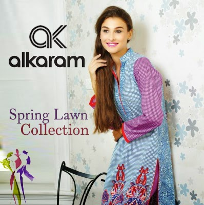 Alkaram Spring Lawn Collection 2015