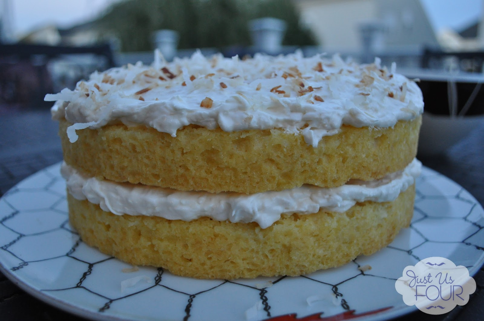 Pineapple Right Side Up Cake With Cake Mix