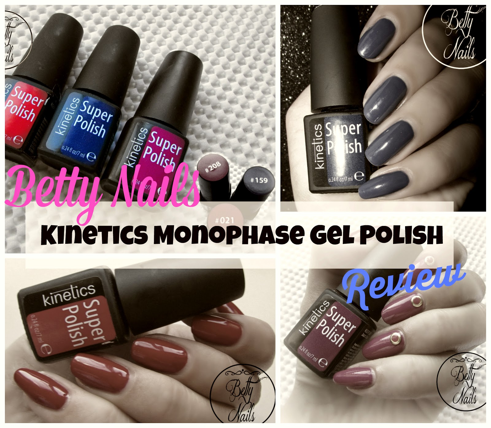 Betty Nails: Kinetics Super Polish - Monophase Line [Review]