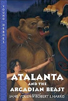 bookcover of  ATALANTA AND THE ARCADIAN BEAST  (Young Heroes) by Robert J. Harris and Jane Yolen
