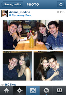 Instagram photo: Rayver and Imee group date