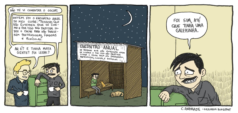 Cesar Andrade - Cartunista Freelancer