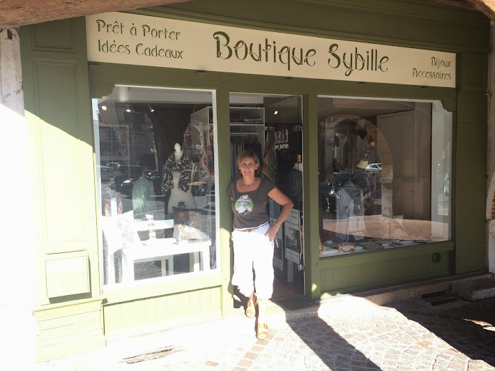 demenagement de la boutique Sybille