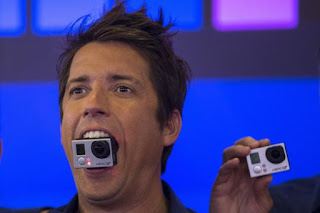 Ο ιδρυτής του GoPro Nick Woodman δείχνει μερικές φορές την αστεία πλευρά του.