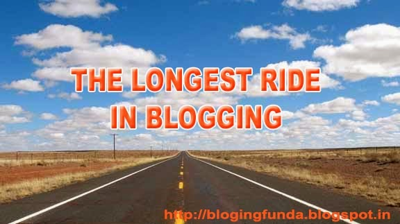 The Longest Ride in Blogging - An Inspiration by BlogingFunda