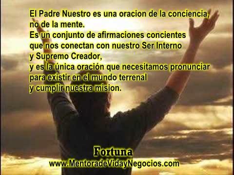 padre nuestro, conciencia, mente, conciencia sol, conciencia despierta, conexion espiritual,