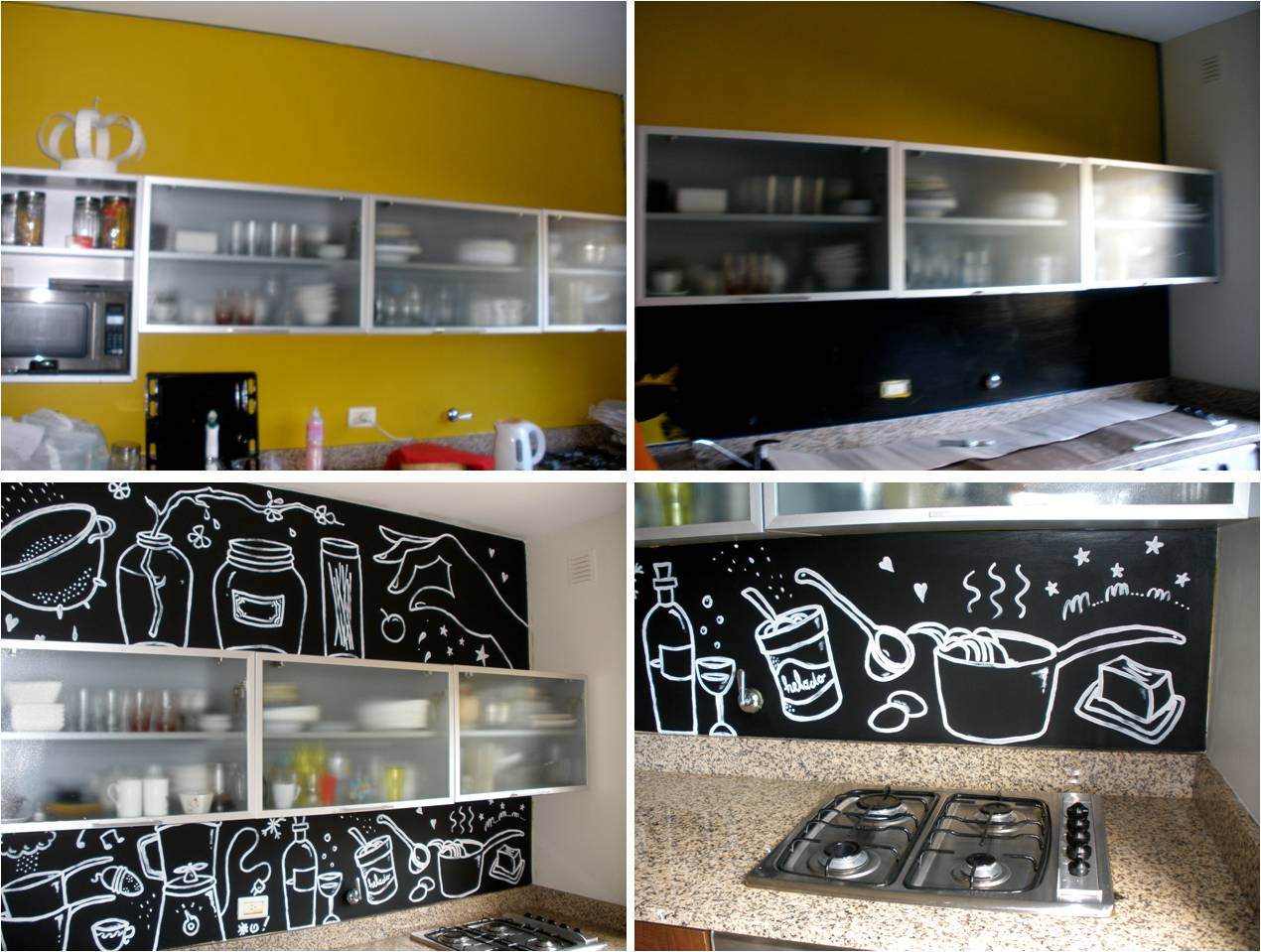 Estudio dulce cattaneo dise o de interiores murales for Murales para cocina