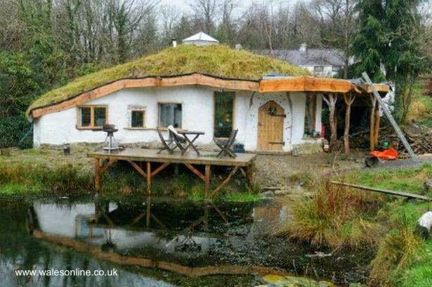 Perfil de una casa ecológica