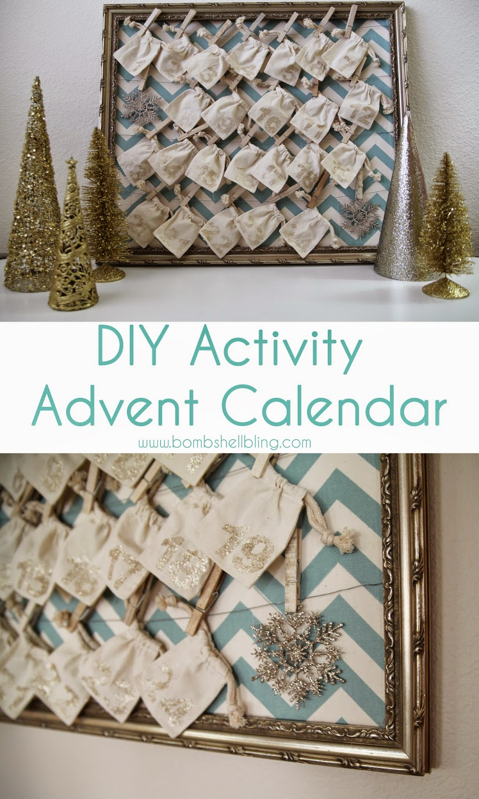 Calendar Advent Diy : Diy activity advent calendar