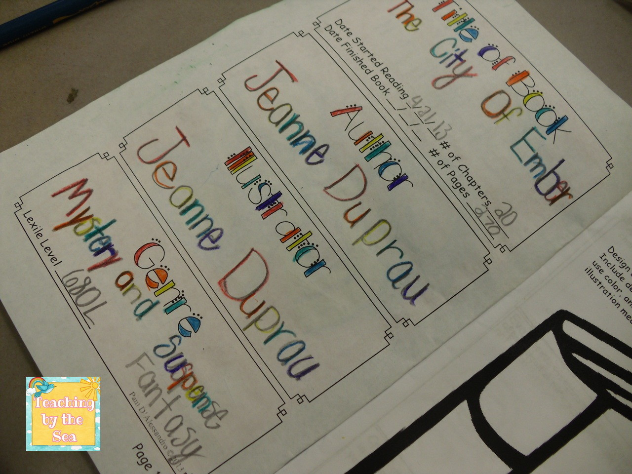 Teaching By the Sea: Summer Reading Response Journal - Using Blooms ...