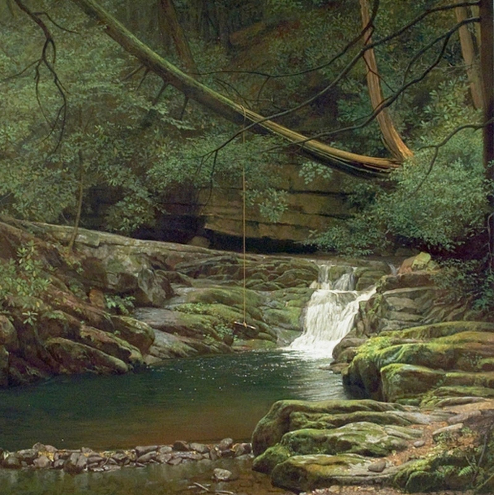 Cuadros pinturas oleos cuadros pintados al leo de paisajes for Cuadros pintados al oleo