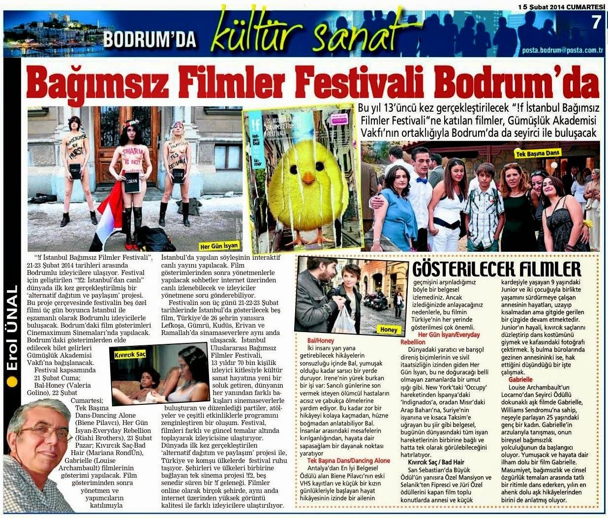 31 BAGIMSIZ FİLMLER FESTİVALİ