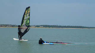 Windsurf holiday De Silva´s KiteResort Kalpitiya