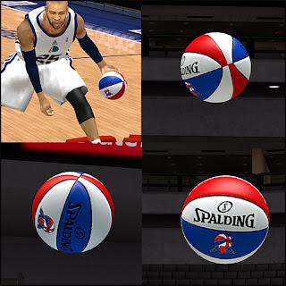 NBA 2K13 ABA Spalding Basketball Mod