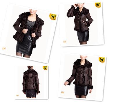 Real Sheepskin Fur Jacket for Women