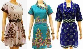 Model Baju Batik Modern Terbaru 2015 Paling Dicari