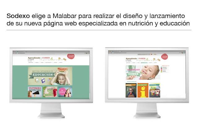 Diseño y desarrollo Web sobre educación y nutrición