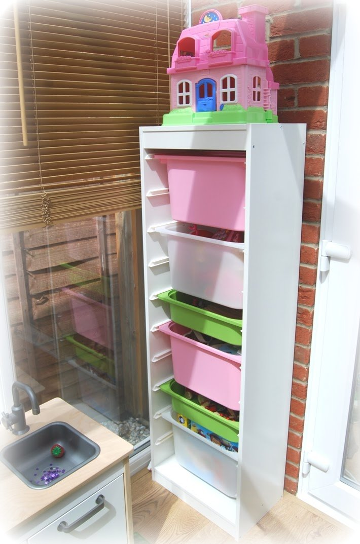Ikea Hochschrank Wohnzimmer ~ MummysShoes IKEA Playroom Makeover Beat the Mess Stress!