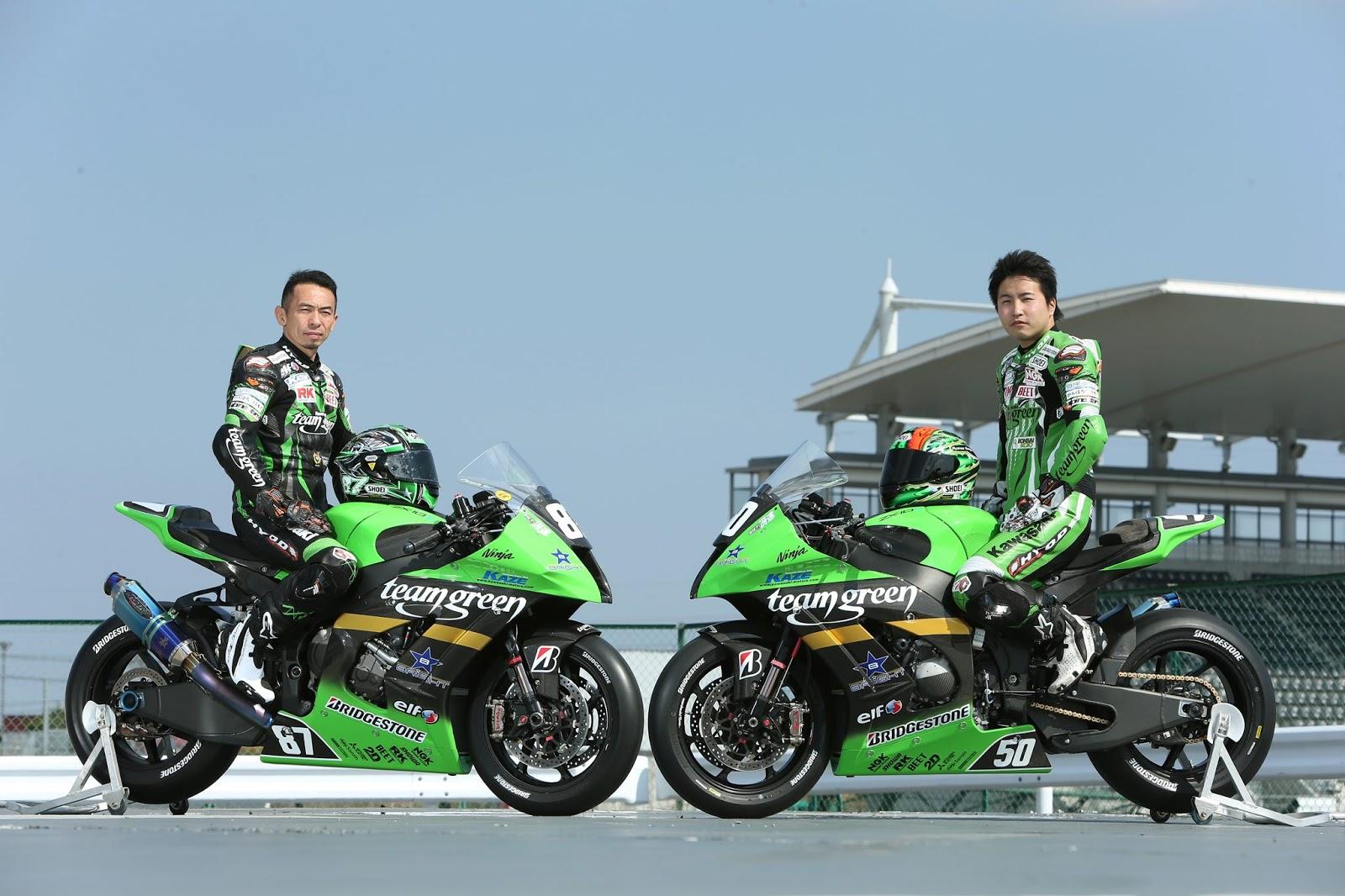 Planet Japan Blog: All Japan Superbike - Kawasaki ZX-10R Team Green