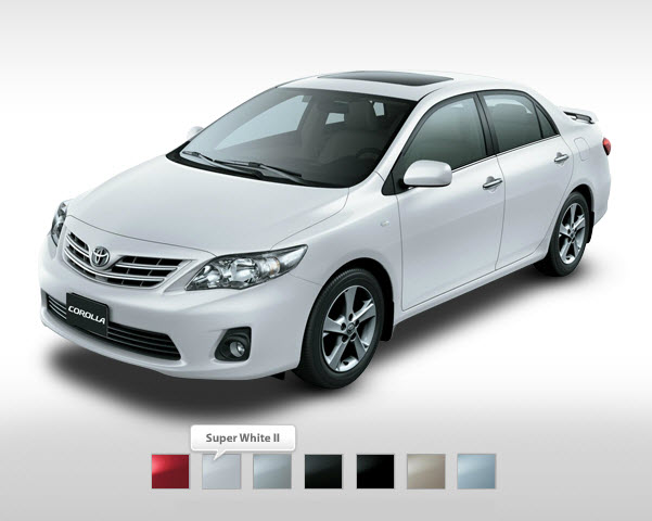 Toyota Corolla XLI 2013 Price in Pakistan, Features and Pictures