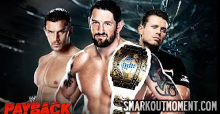 WWE Payback PPV Results Fandango wins Intercontinental Championship from Wade Barrett Miz