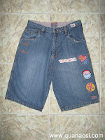 Qun short Jean hiu HAREM USA 180k