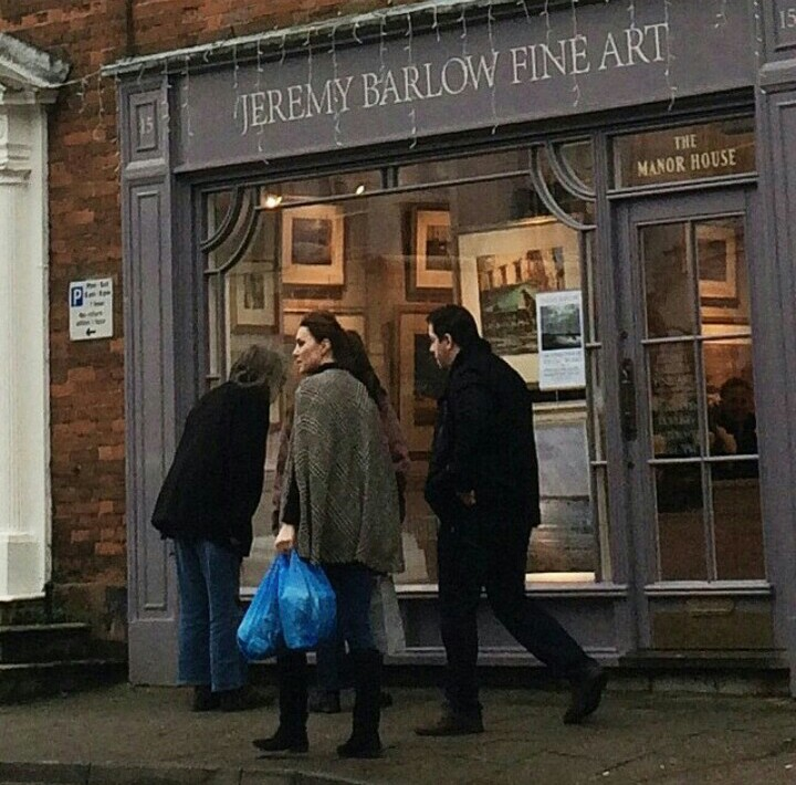 The Duchess of Cambridge was also in Norfolk earlier this week