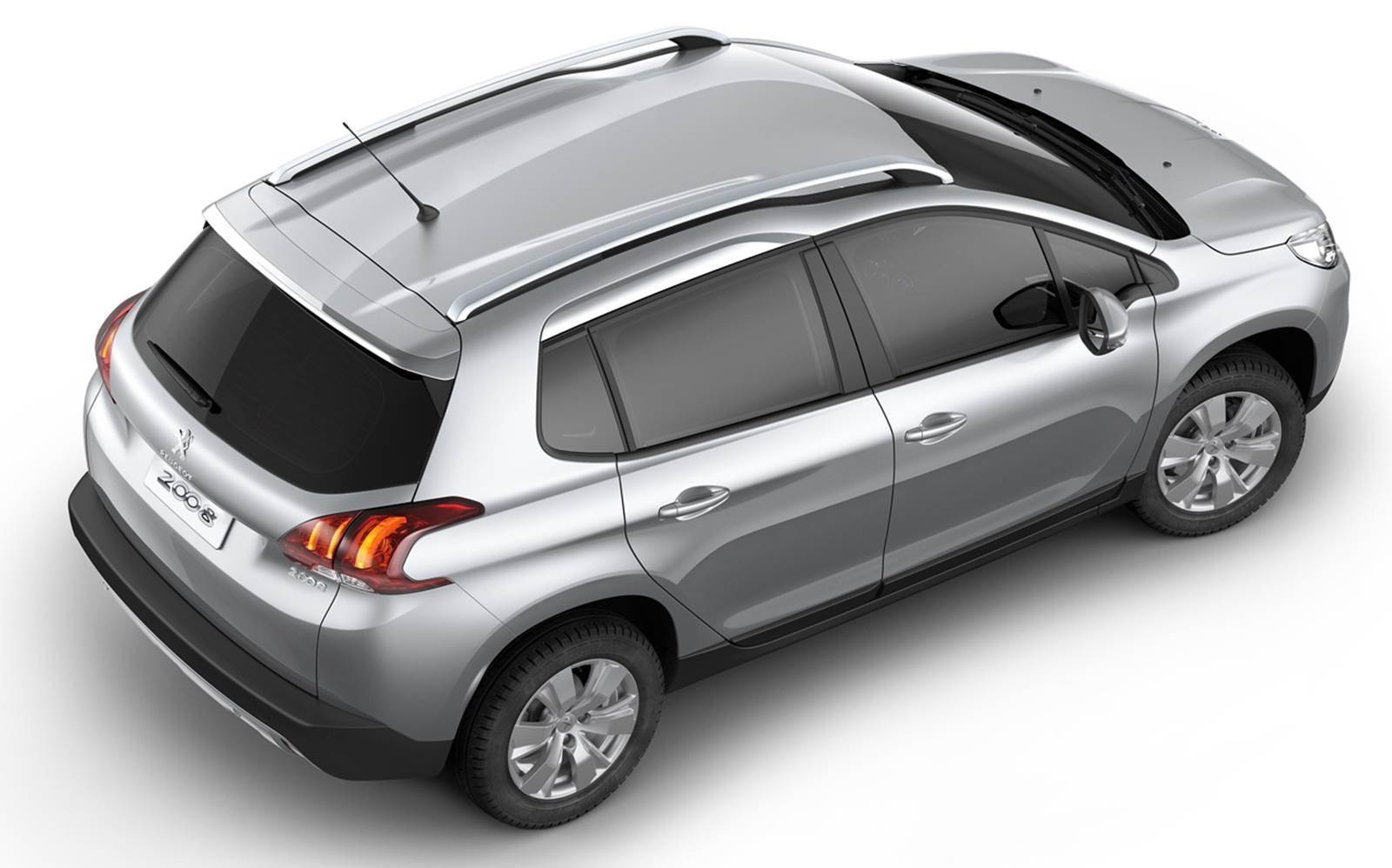 Novo Peugeot 2008 Allure - Prata