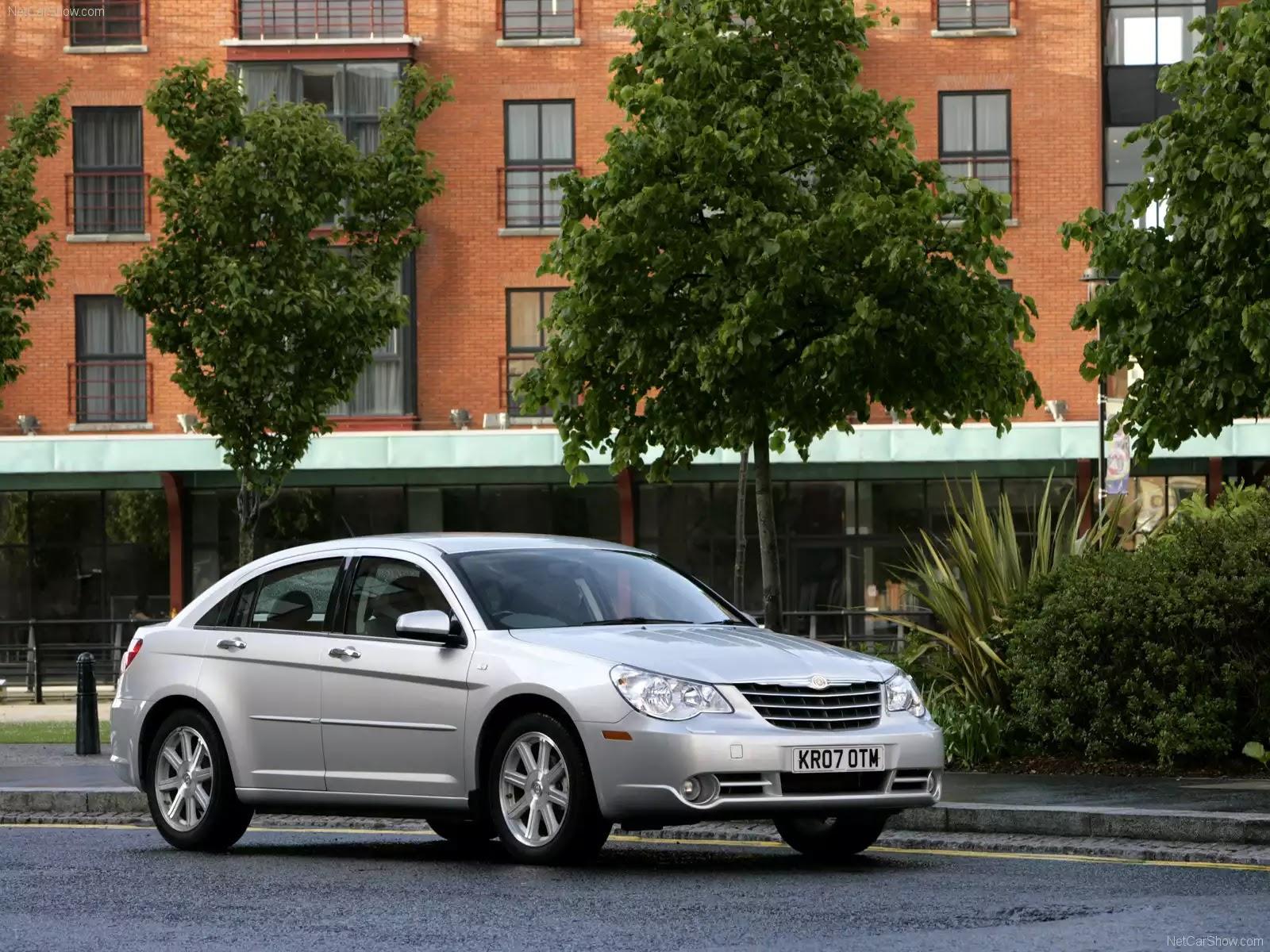 Hình ảnh xe ô tô Chrysler Sebring UK Version 2007 & nội ngoại thất
