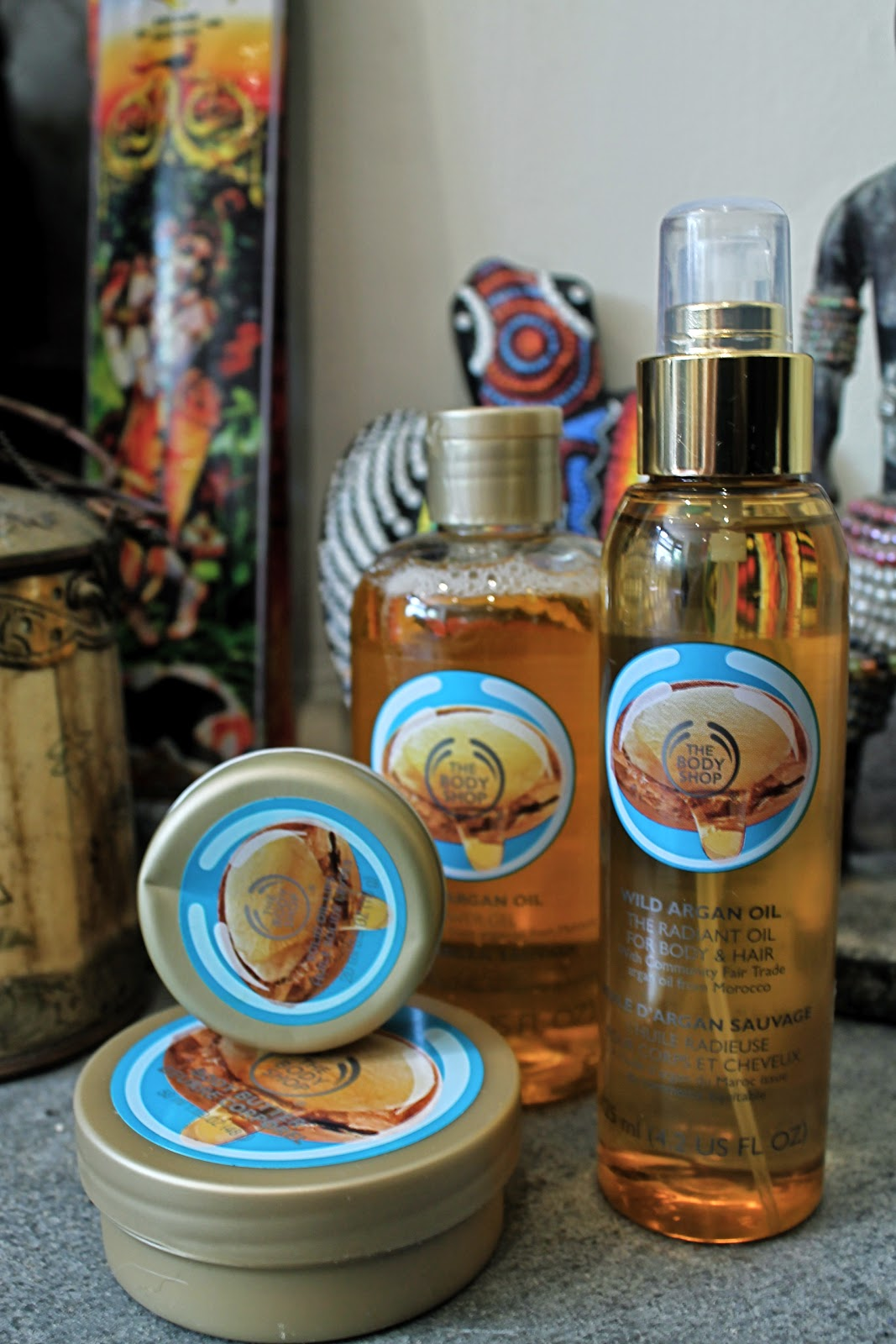 The Body Shop Argan Oil Range review