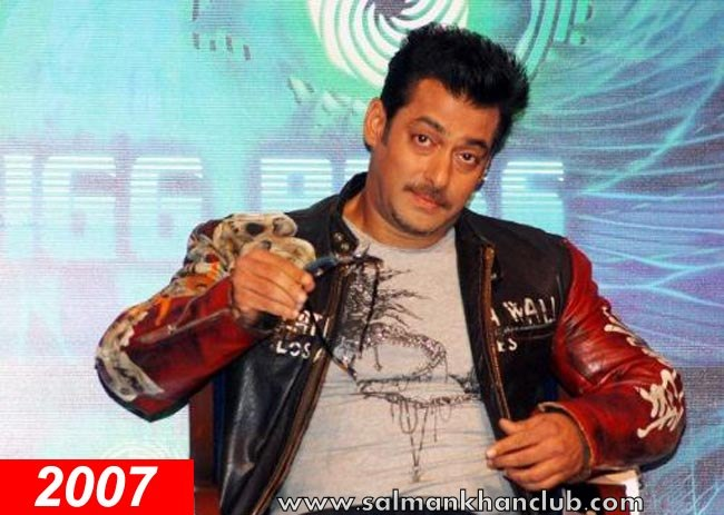 Salman Khan acquired a trendy spiked look for his role of a love guru ...