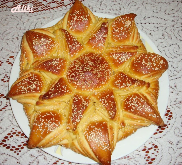"Pogača ""Cvet"" - isprobani recepti Coolinarika"
