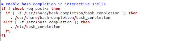 Configuração do Bash